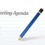 meeting agenda graphic