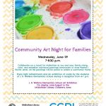 Community Art Night at the Midlothian Library - June 29