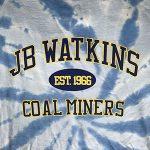 JB Watkins Blue Tie Dye Shirt