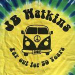 JB Watkins Rainbow Tie-Dye Shirt