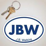 JBW Sticker