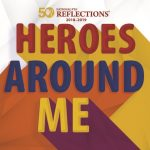 PTA Reflections Heroes Around Me logo