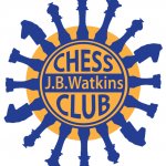JB Watkins Chess Club Logo
