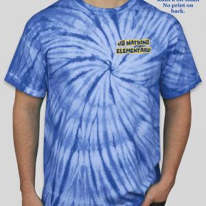 JB Watkins Adult Tie Dye Shirt