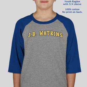 JB Watkins Youth Raglan