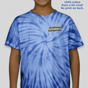JB Watkins Youth Tie Dye Shirt