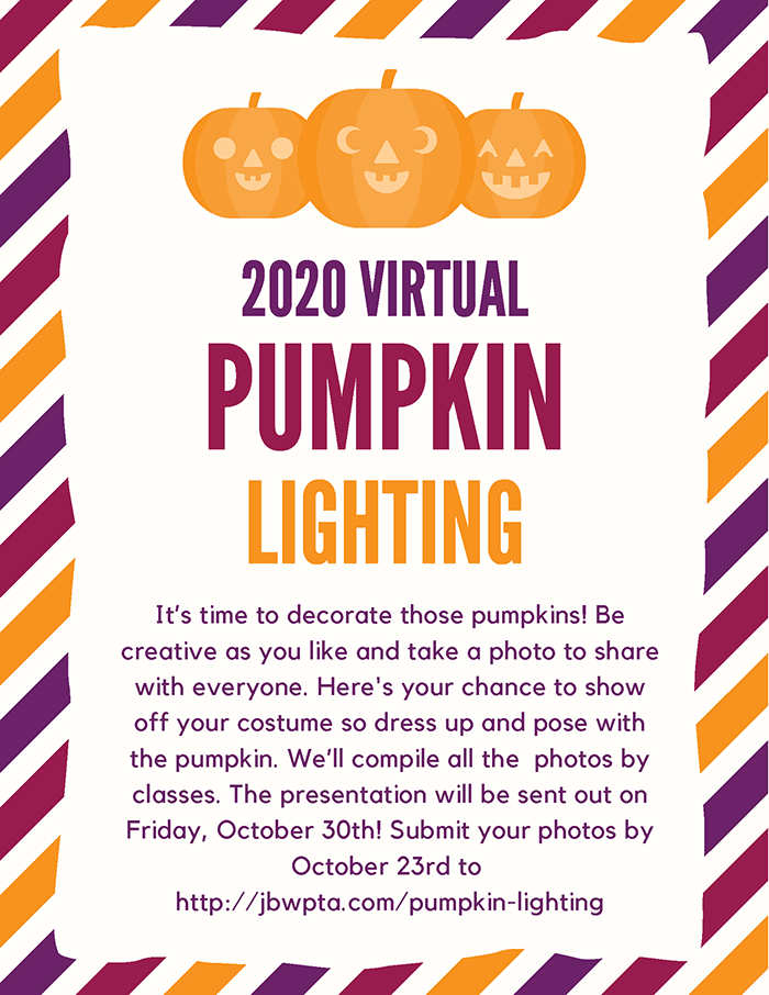 JB Watkins Virtual Pumpkin Lighting 2020