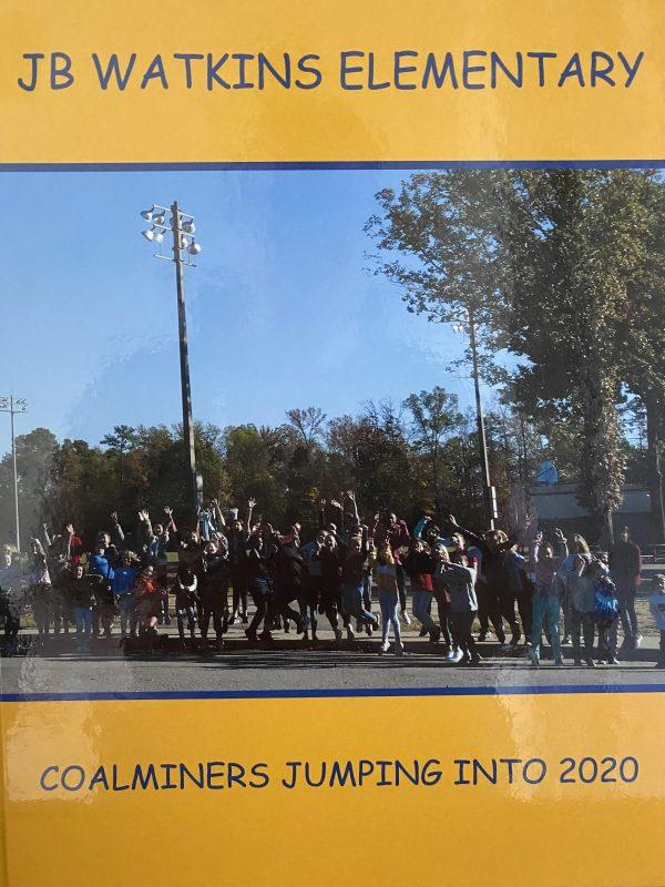 cover of 2020 JB Watkins yearbook